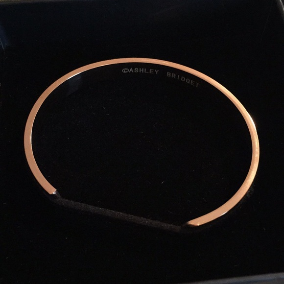 Ashley Bridget Gold Hair Tie Bracelet d765e8609da